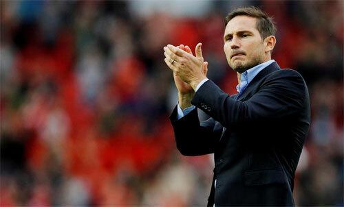 Lampard đang mang lại niềm tin cho CĐV Chelsea. Ảnh: Reuters