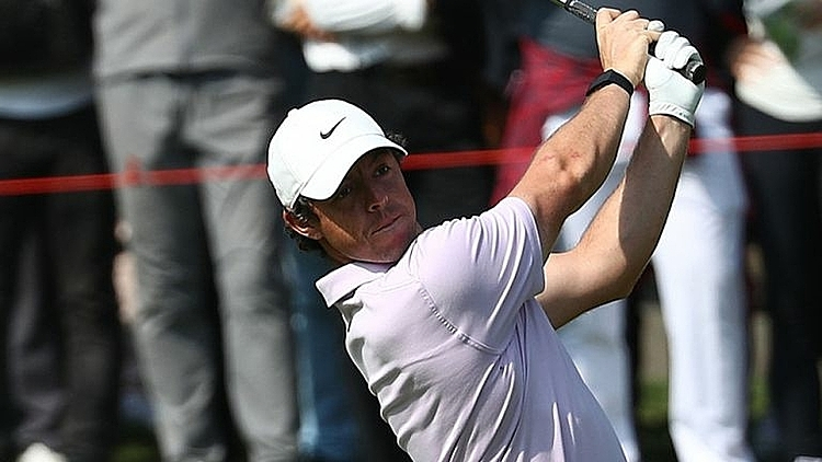 Trong 12 lần dẫn đầu vòng ba, McIlroy bảy lần vô địch tại PGA Tour. Ảnh: Sky.