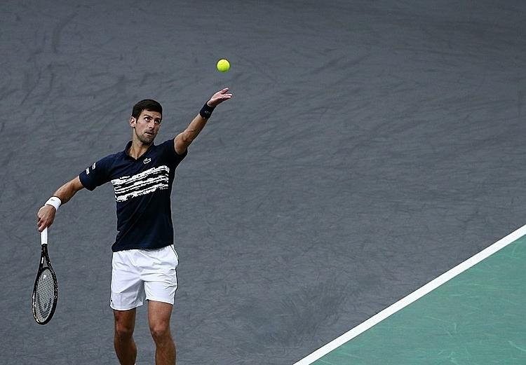 Djokovic thắng 81% điểm bóng một và 80% điểm bóng hai.