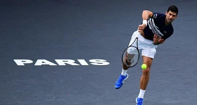 Djokovic thắng trận chung kết nhờ điểm mạnh ở các quả giao và trả giao. Ảnh: AFP.