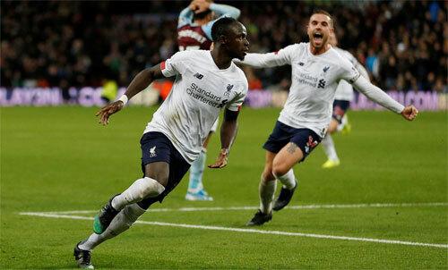 Mane luôn tỏa sáng khi Liverpool cần. Ảnh: Reuters