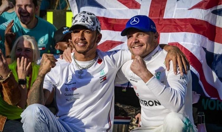 Bottas nói anh cảm thấy vui vì ngăn Hamilton về nhất tại GP Mỹ. Ảnh: Reuters.