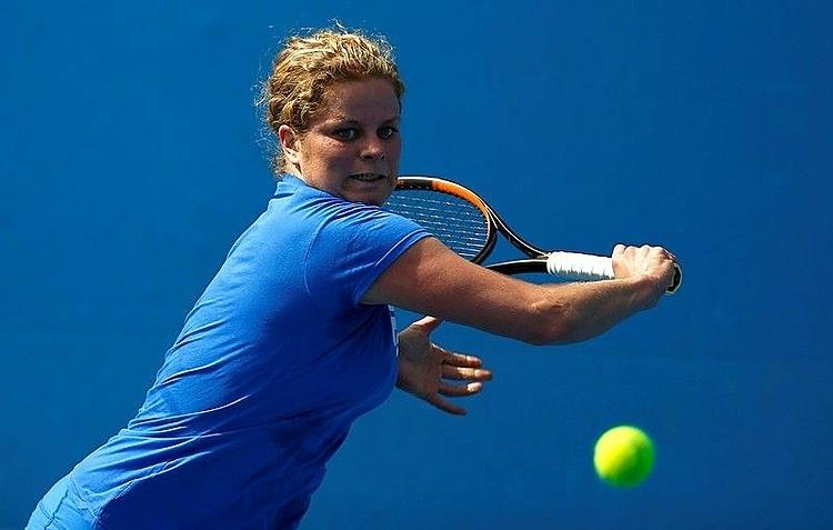 Clijsters từng ba lần vô địch Mỹ Mở rộng và một lần đăng quang tại AustraliaMở rộng ở nội dung đơn nữ. Ảnh: Reuters.