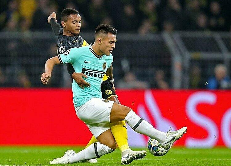 Lautaro Martinez ghi bàn ở trận thứ ba liên tiếp tại Champions League. Ảnh: imago.