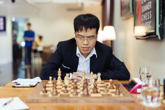Quang Liêm lần thứ hai được mời dự Grand Chess Tour. Ảnh: STL.