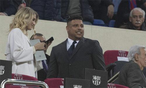 Ronaldo gắn bó với bóng đá bằng cách làm ông chủ CLB. Ảnh: AS