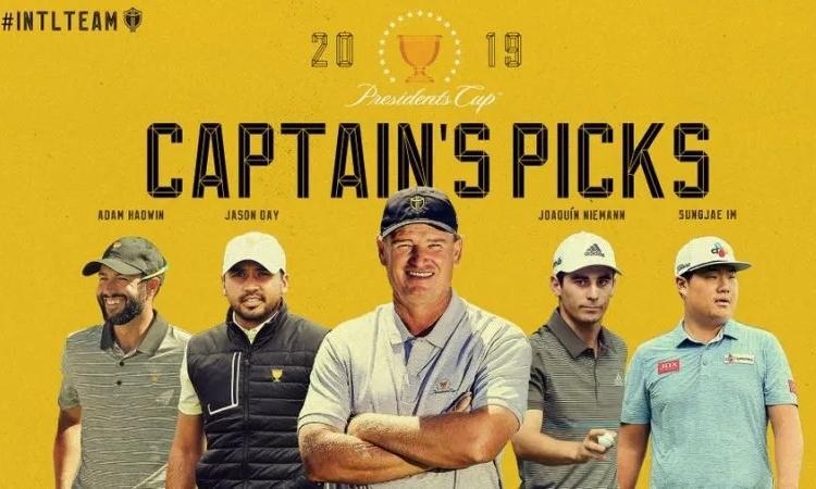 Đội trưởng Els gút danh sách với bốn cái tên được chọn hôm nay.