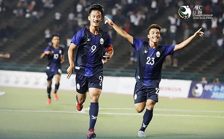 Thái Lan thua Campuchia ở vòng loại U19 châu Á - ảnh 1