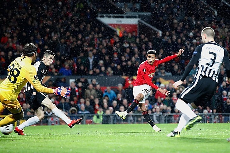 Man Utd vào vòng knock-out Europa League - ảnh 1