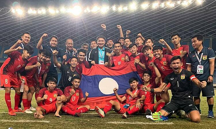 Lào đi tiếp, Thái Lan bị loại ở giải U19 châu Á - ảnh 1