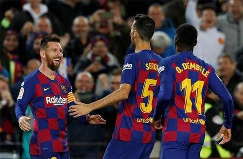Barca lấy lại phần nào niềm tin ở người hâm mộ.