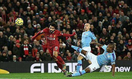 Salah ghi bàn thứ sáu trong mùa giải. Ảnh: SportsMail.
