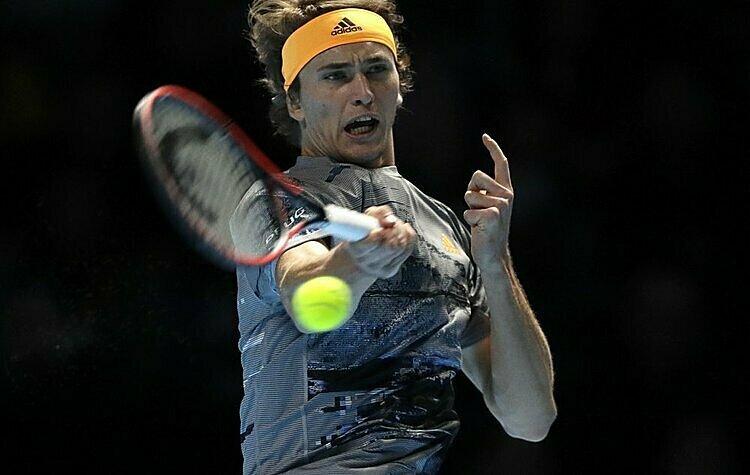 Zverev phá dớp toàn thua trước Nadal. Ảnh: AP.
