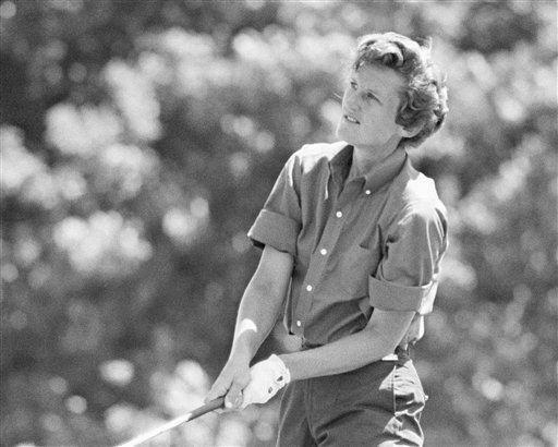 Nữ hoàng golf bị lãng quên - ảnh 1