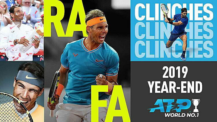 Nadal thắng 52 trong 59 trận từ đầu năm 2019 đến nay. Ảnh: ATP.