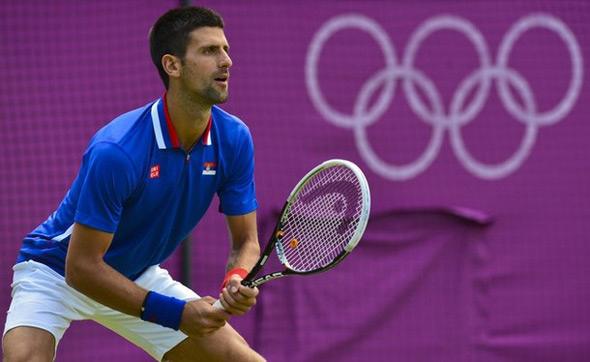 HC vàng Olympic là vinh quang duy nhất còn thiếu trong sự nghiệp của Djokovic. Ảnh: AP.
