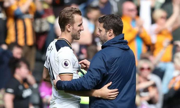 Kane thành công nhờ sự tin tưởng và dìu dắt của Pochettino. Ảnh: Reuters