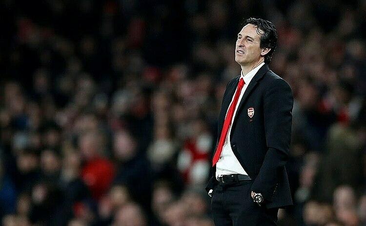 Emery chưa thể kéo Arsenal khỏi mớ bòng bong hiện tại. Ảnh: Reuters.