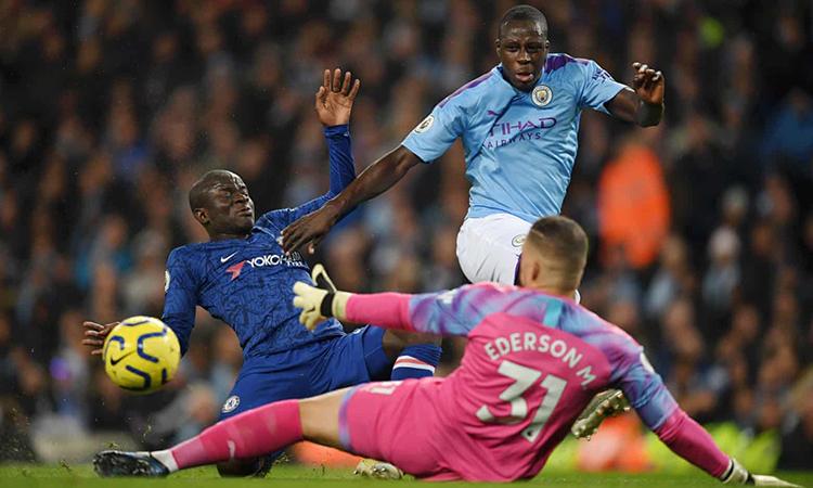 Kante dứt điểm thành bàn ở ngay cú sút đầu tiên trong trận. Ảnh: Chelsea FC.