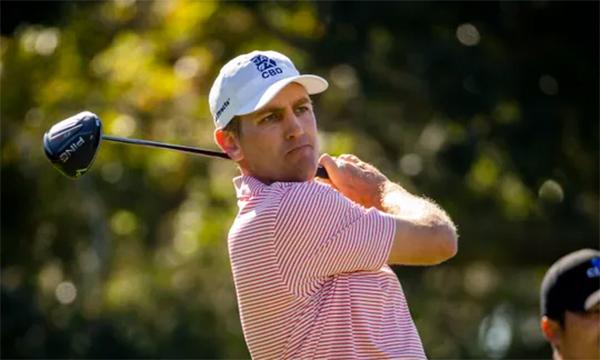 Brendon Todd đang có cơ hội lớn để bắt kịp kỷ lục vô địch ở ba lần xuất trận liên tiếp tại PGA Tour của hai tiền bối Dustin Johnson và Tiger Woods. Ảnh: AP.