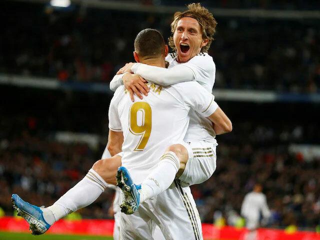 Real đang thi đấu vững vàng với trận bất bại thứ sáu liên tục. Ảnh: Reuters