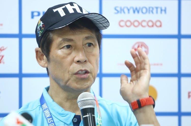 HLV Akira Nishino nhận thất bại ngay trận đầu tiên ông cầm quân ở SEA Games.