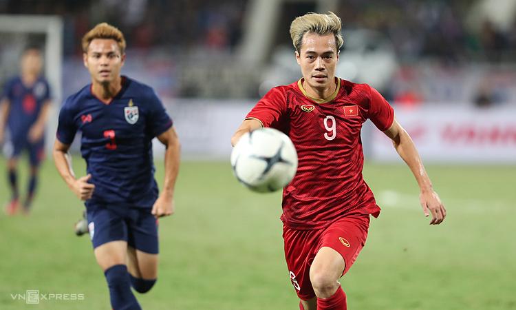 Đội tuyển Việt Nam sẽ kết thúc năm 2019 trong top 100 thế giới. Ảnh: Đức Đồng.