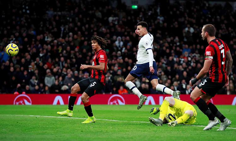 Tottenham lên thứ năm Ngoại hạng Anh - ảnh 1