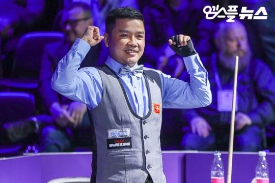 Anh Chiến - đương kim vô địch quốc gia - làm nên lịch sử cho billiards Việt Nam ở giải thế giới. Ảnh: Naver.