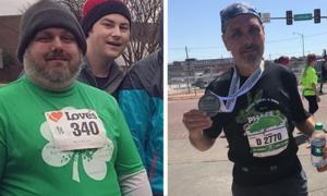 Người đàn ông giảm 60kg sau 2 năm chạy bộ