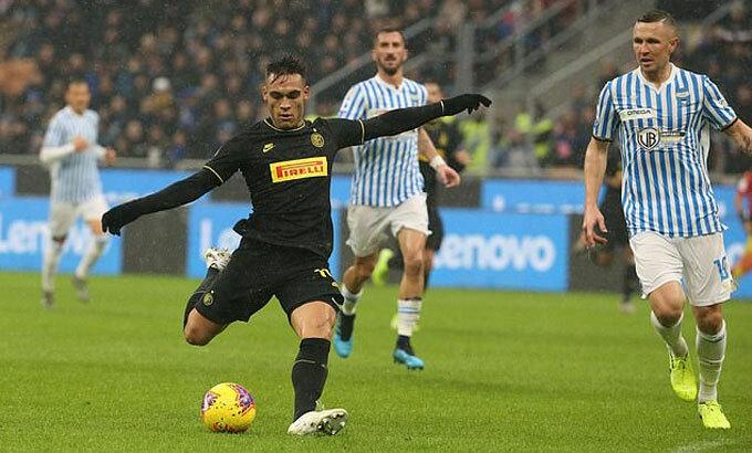 Lautaro Martinez thực sự là một viên ngọc của Inter. Ảnh: EPA