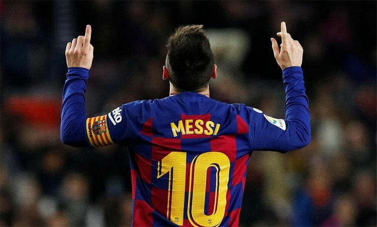 Messi mừng Quả Bóng Vàng bằng hat-trick - ảnh 1