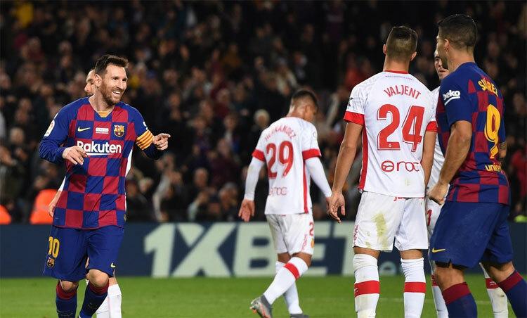 Messi mừng Quả Bóng Vàng bằng hat-trick - ảnh 2