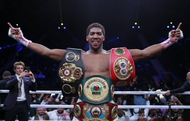 Joshua: Trận thống nhất đai vô địch phải diễn ra vào năm 2020 - ảnh 1