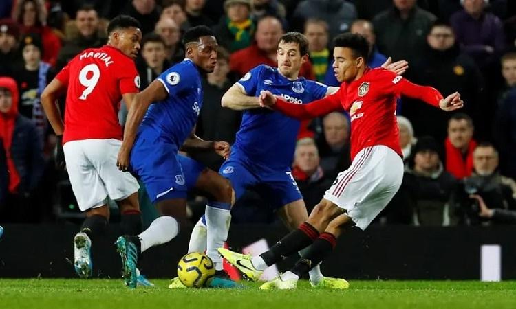 Greenwood giúp Man Utd có trận hòa với cú sút quyết đoán và hiểm hóc. Ảnh: Reuters.
