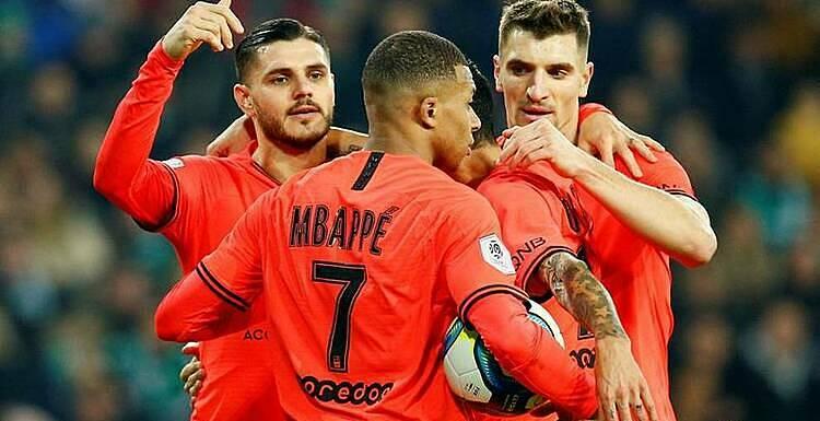 PSG đã bất bại trong tám trận gần nhất. Ảnh: Reuters.