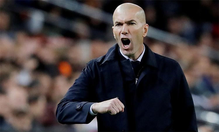 Zidane tự tin giành kết quả tốt trên sân Nou Camp. Ảnh: Reuters