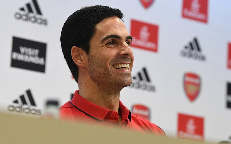 Arteta chia sẻ trong cuộc họp báo đầu tiên dưới cương vị HLV Arsenal. Ảnh: Arsenal FC.