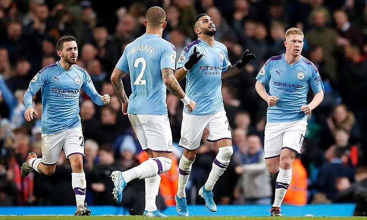 Man City thắng đối thủ cạnh tranh trực tiếp vị trí nhì bảng. Ảnh: PA.
