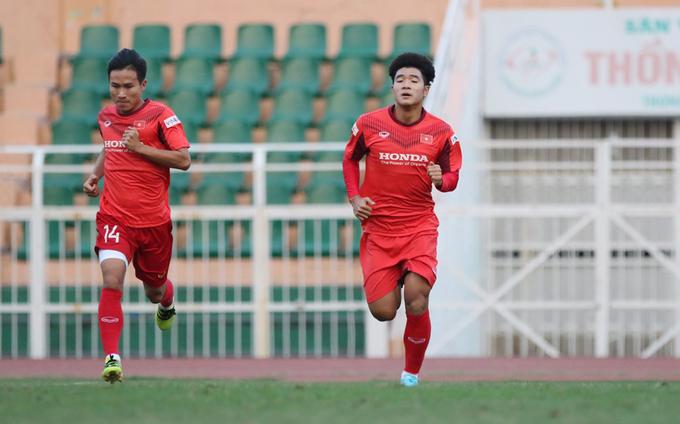 U23 Việt Nam tập buổi đầu tại TP HCM