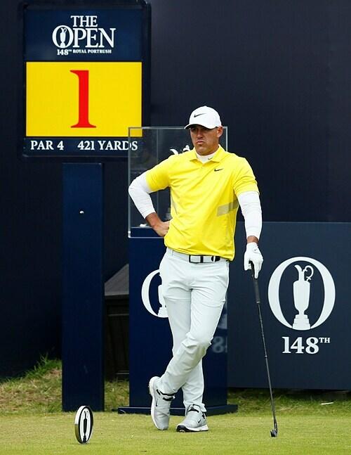 Koepka là golfer chơi tốt nhất năm chỉ tính riêng ở các sự kiện major. Ảnh: Reuters.