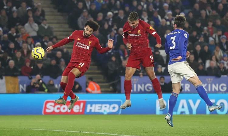 Như không hề bị ảnh hưởng bởi chuyến đi sang Qatar đá FIFA Club World Cup, Liverpool nhẹ nhàng kết liễu Leicester. Ảnh: Reuters.