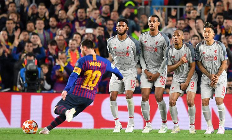 Messi có khả năng đánh bại những hàng rào cao lớn và thủ môn xuất sắc. Ảnh: Reuters