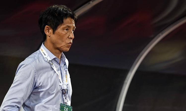 HLV Nishino nhận định Thái Lan sẽ gặp nhiều khó khăn ở vòng chung kết U23 châu Á 2020. Ảnh: AFC.