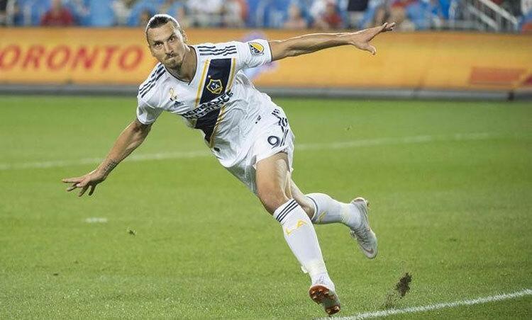 Ibrahimovic vẫn đang có hiệu suất ghi bàn rất cao. Ảnh: Reuters