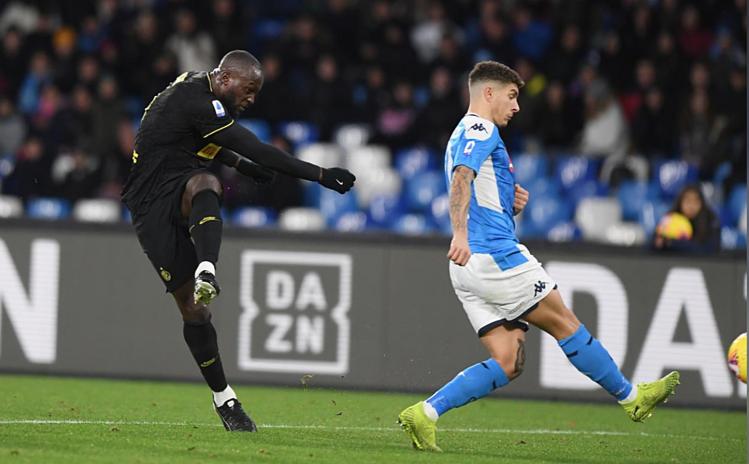 Lukaku ghi 14 bàn sau 18 vòng Serie A mùa này. Ảnh: Reuters.