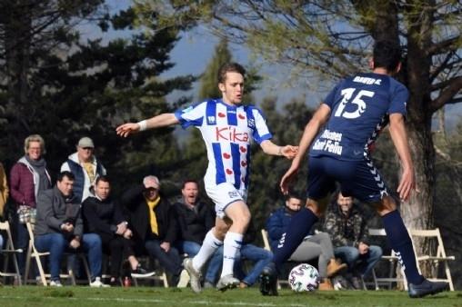 Heerenveen đang trong chuyến tập huấn tại Tây Ban Nha.