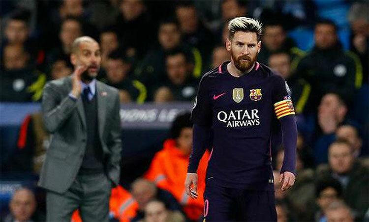 Guardiola: Messi hay nhất ở vị trí số 9, 10, 11 - ảnh 1
