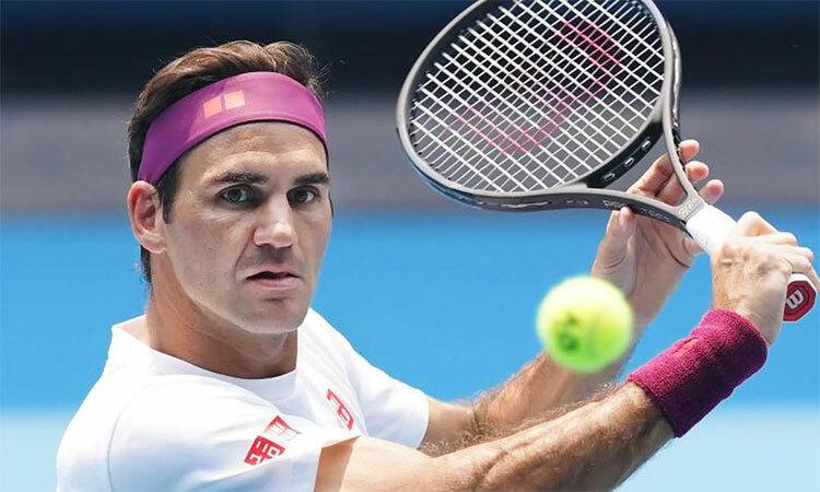 Federer sẽ chạm mốc 100 trận thắng tại Australia Mở rộng nếu vào tới vòng bốn. Ảnh: AP.