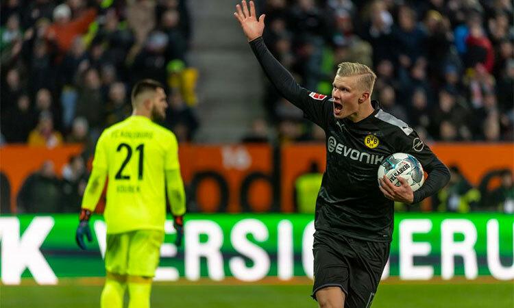 Haaland ghi hattrick giúp Dortmund thắng ngược - ảnh 2